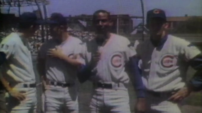 HEY HEY! Happy birthday, Mr.Cub!   Ernie Banks would have been 88 years old today.