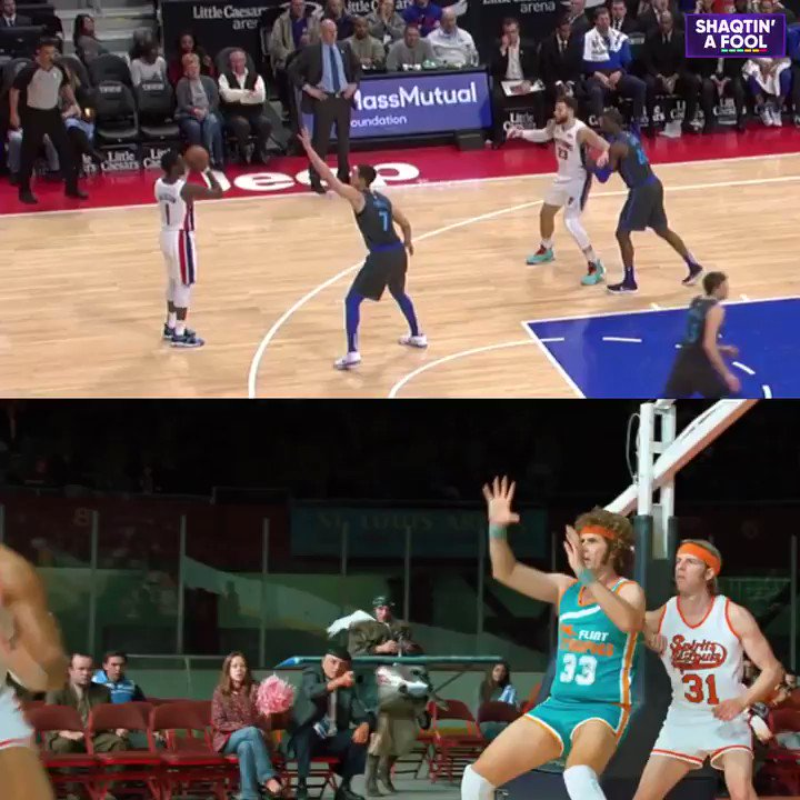 Who did it better: @blakegriffin23 or Jackie Moon? 😂  #Shaqtin