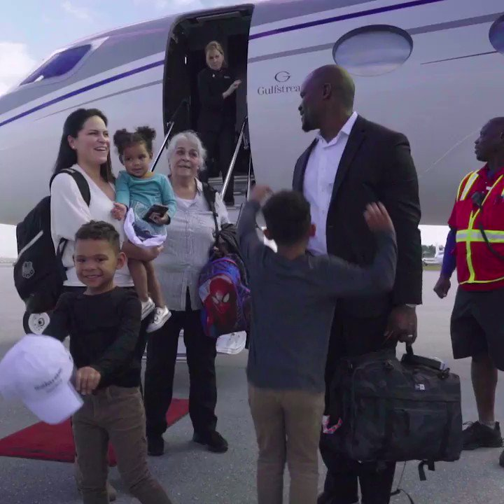 👋 Welcome to South Florida, Flores family! 👋  #FinsUp
