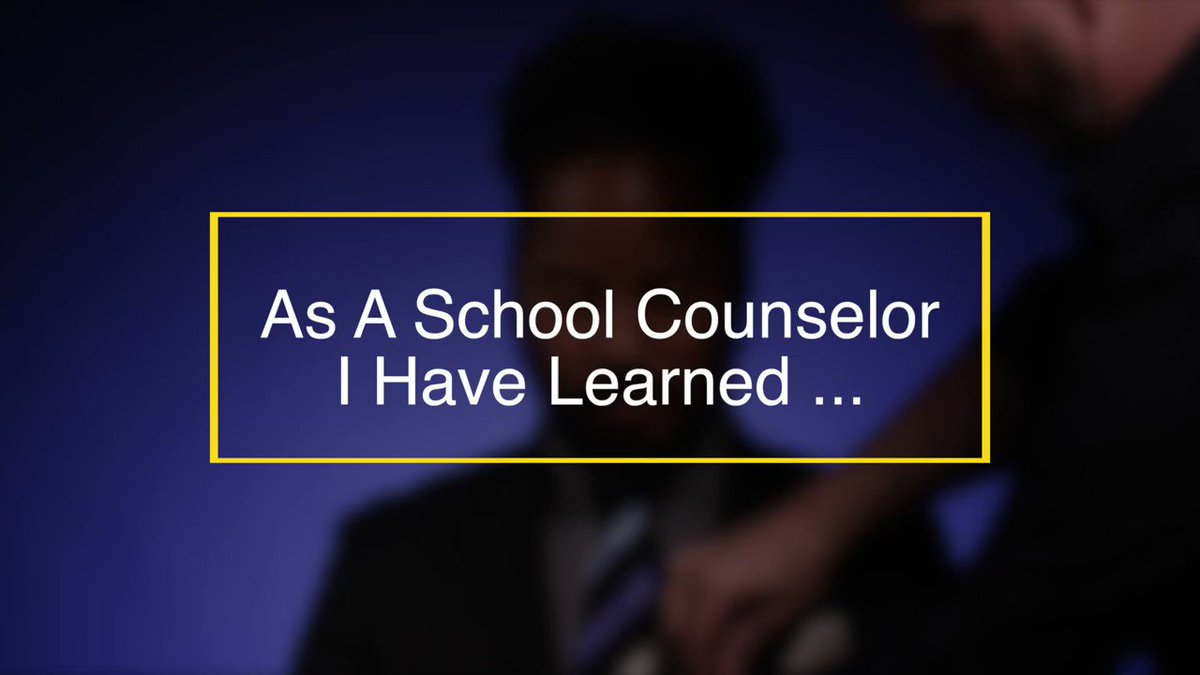 Brian Coleman, 2019 #SchoolCounselor of the Year, the #SCOY19 finalists, and ED's newest School Counselor Fellow share their lessons learned while serving as counselors in schools across the nation. #NSCW19 @ASCAtweets