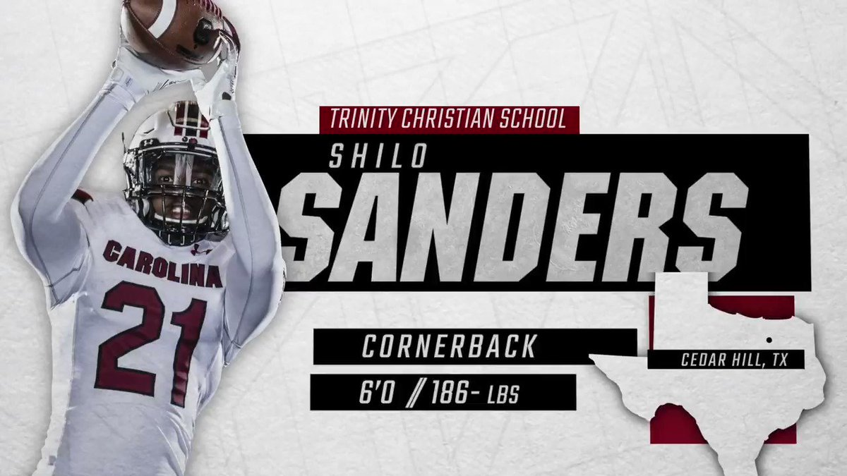 Welcome to the 803, @ShiloSanders!