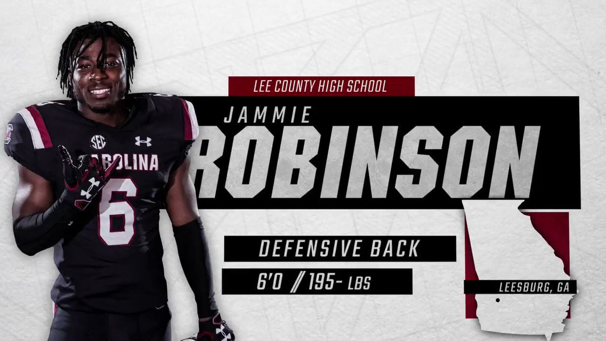 The journey starts now.   Welcome home, @Jammierobinson6!