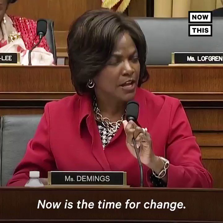 'Which life is not worth saving? … Now is the time for change.' — @RepValDemings' emotional plea during the House hearing on gun violence is a must-watch