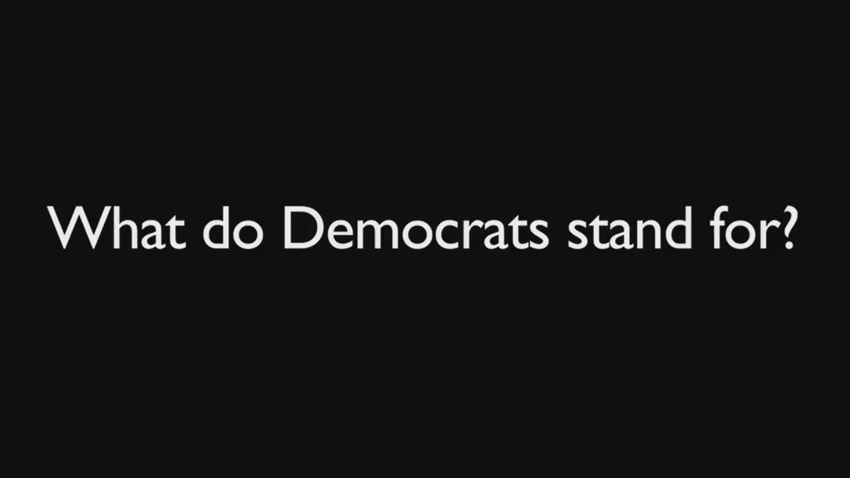 Tuesday's #SOTU made it clear: Democrats won't stand for anything but themselves.