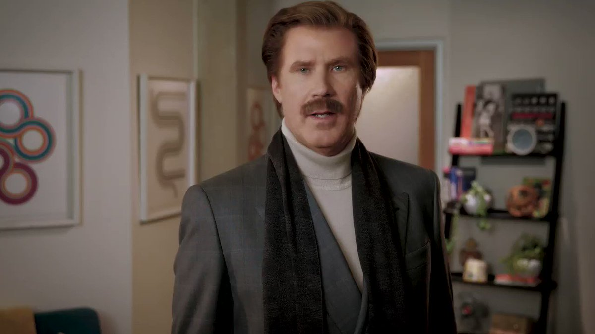 Welcome, Ron. 👋 Listen to #TheRonBurgundyPodcast here: https://apple.co/RonBurgundy