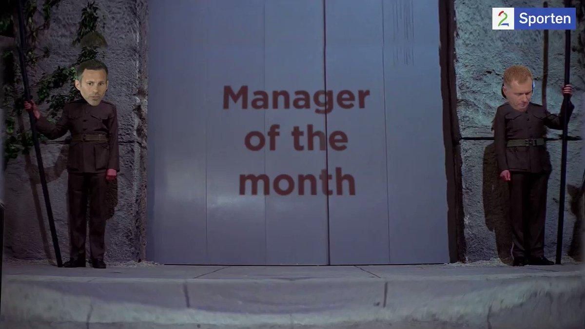Solskjær er kåret til månedens manager i Premier League!  Syke tilstander på Old Trafford nå 😂