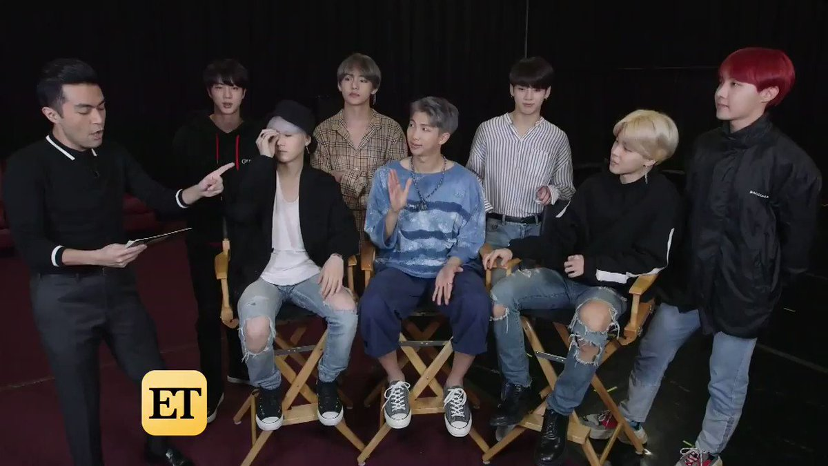 We're so EXCITED that @BTS_twt is sitting next to @Camila_Cabello at the #GRAMMYs