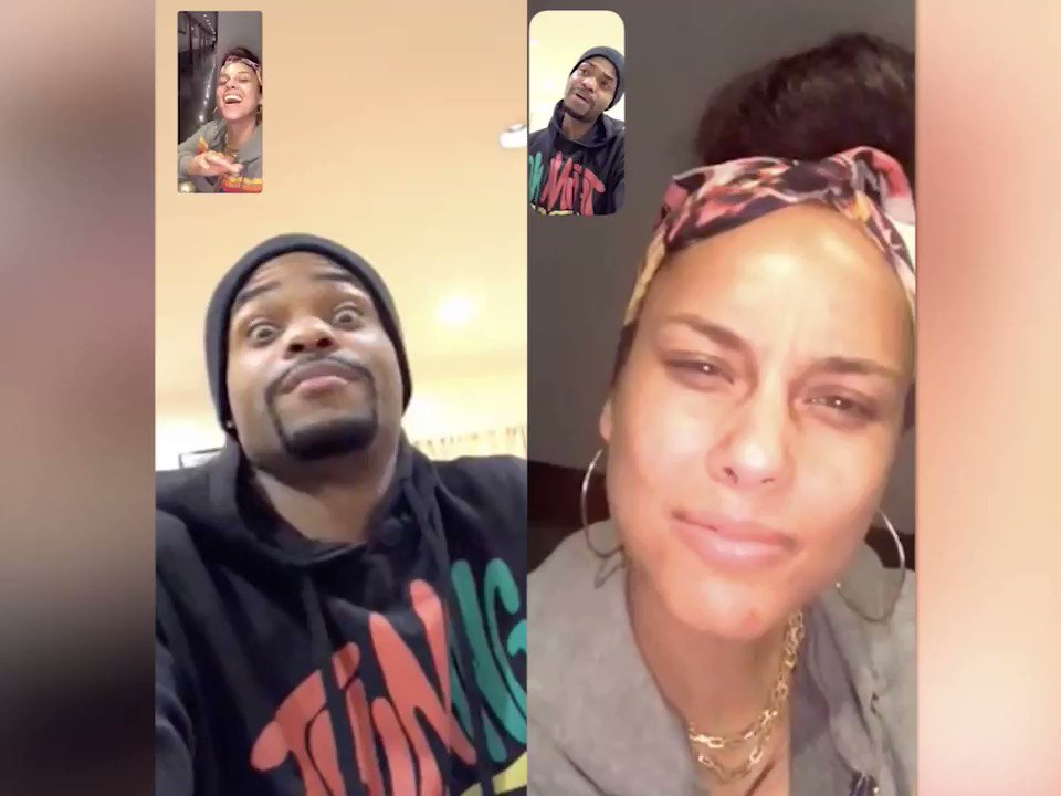 Crazy call with @KingBach!!! I'm SCREAAMMMING!!!! Great vibes!!! ���� who else has GRAMMY hosting advice for me??? https://t.co/RtM1VzPHs2