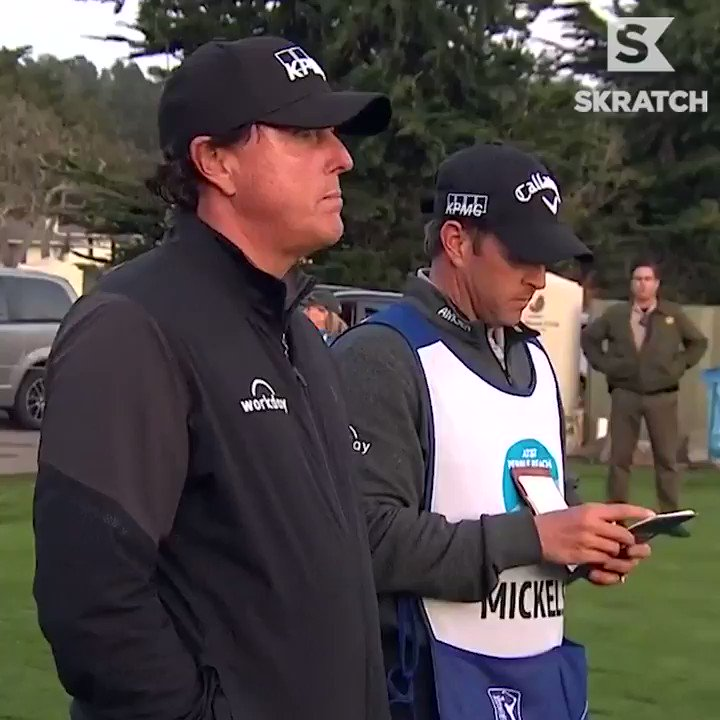 Phil Mickelson really, really wanted to finish play Sunday at Pebble Beach