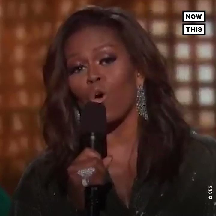 Michelle Obama crashed the biggest night in music, and everyone loved it #GRAMMYs