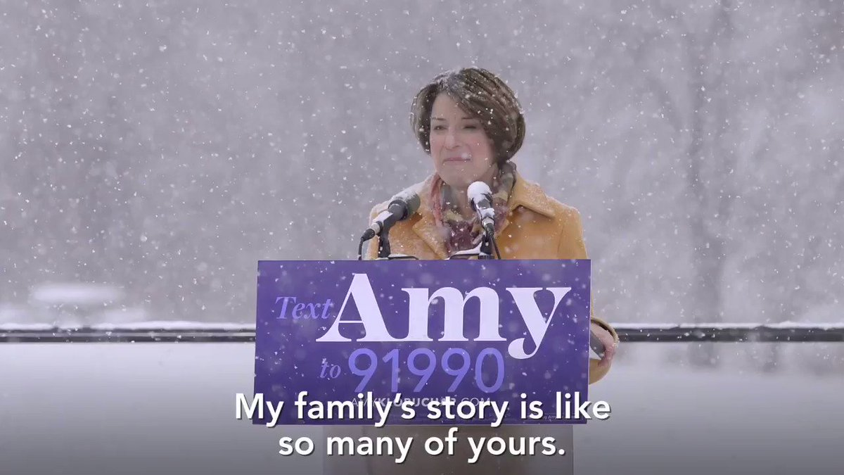 Watch this excerpt from Amy's epic speech.  The cold didn't stop us. The snow didn't stop us. This is how we win.   And follow this link to watch the whole speech: http://amyklobuchar.com/speech