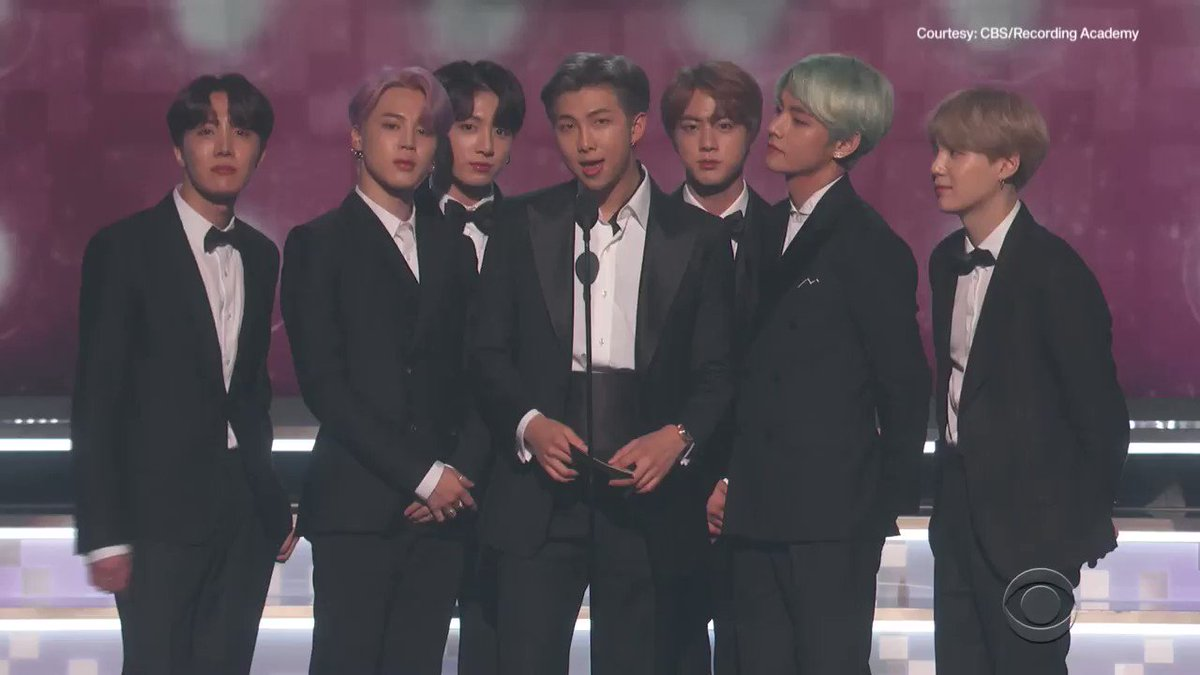 The BEST moments from BTS' first-ever GRAMMY Awards! 💜 #GRAMMYs @BTS_twt #TearItUpBTS
