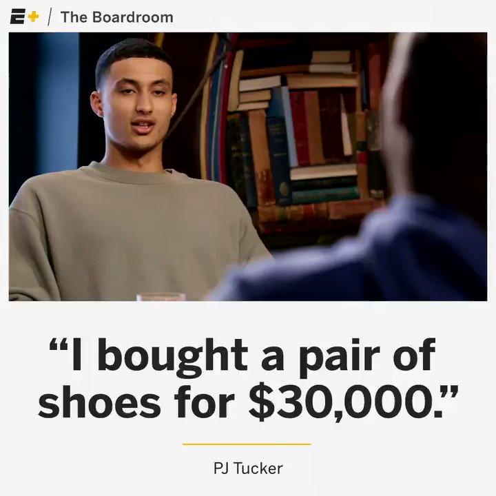 PJ Tucker is setting the bar for sneakerheads 😳