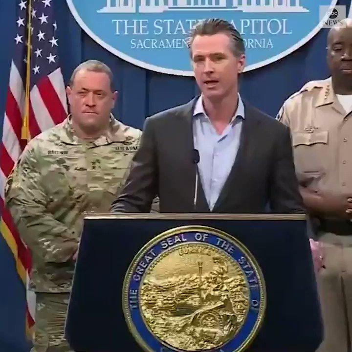 ABC News's photo on Gavin Newsom