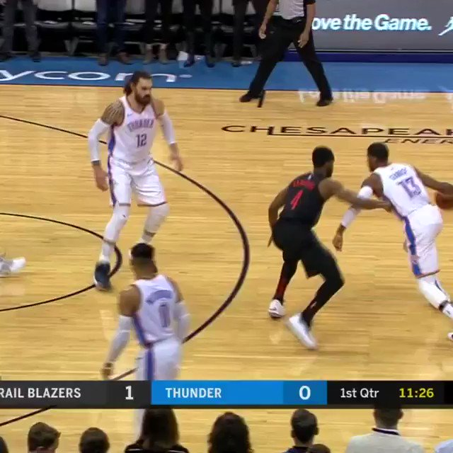 PG. WITH. AUTHORITY. #ThunderUp   ����: https://t.co/iPjKqpSDr5 https://t.co/ZSaGEdVq0g