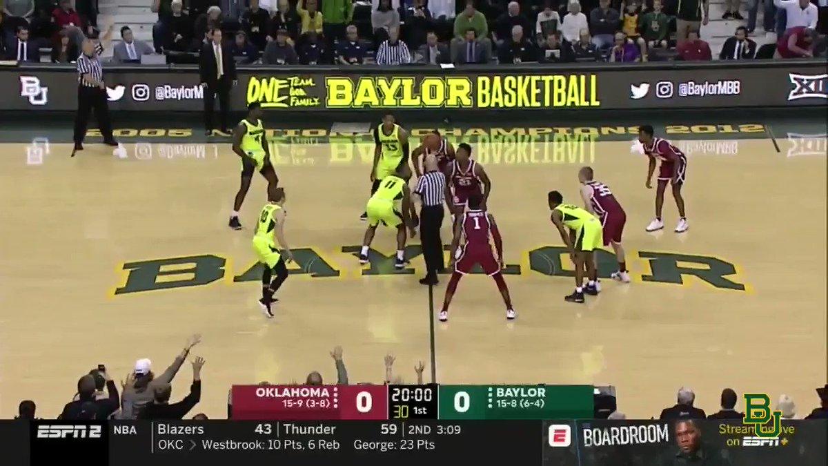Baylor Basketball's photo on Oklahoma