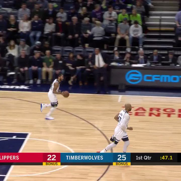 ��  22 PTS & 6 AST for D-Rose in the @Timberwolves win! #AllEyesNorth https://t.co/2u8gGrVnan