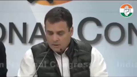 By leaking information on the RAFALE MOU in advance to Anil Ambani, the PM has broken the Official Secrets Act and compromised National Security, opening himself up to criminal prosecution.    Please WATCH & SHARE this video with highlights from my press conference today.