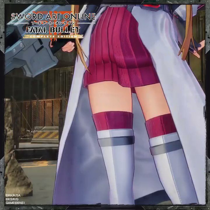 Asuna got a brand-new fighting costume matching with Kirito one in #SAO #FatalBullet! Do you like it? 😊  New adventures await you in the last expansion: Dissonance of the Nexus, available on Steam, XB1 and PS4: http://bnent.eu/BuySAOFB