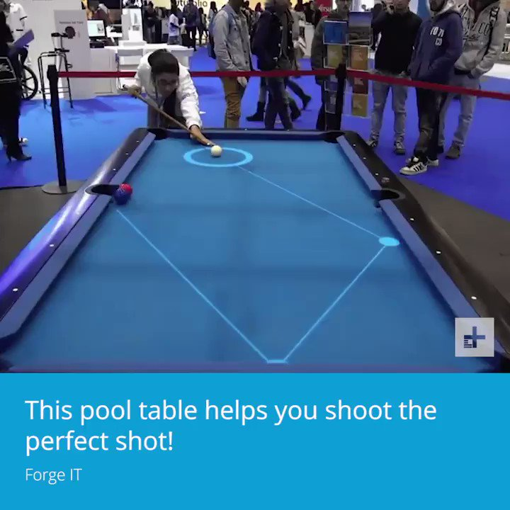 This pool table is totally in AR.