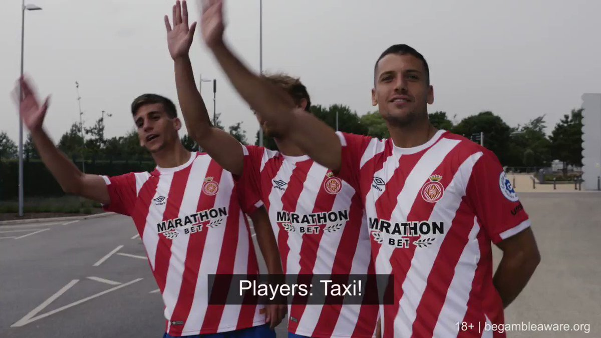 💬😂 @muniesa92, @ppons17 and @A_Granell visit Manchester for a tour with Chappy and to swap Mancunian and Gironin phrases  Marathonbet x @GironaFC x @ManCity