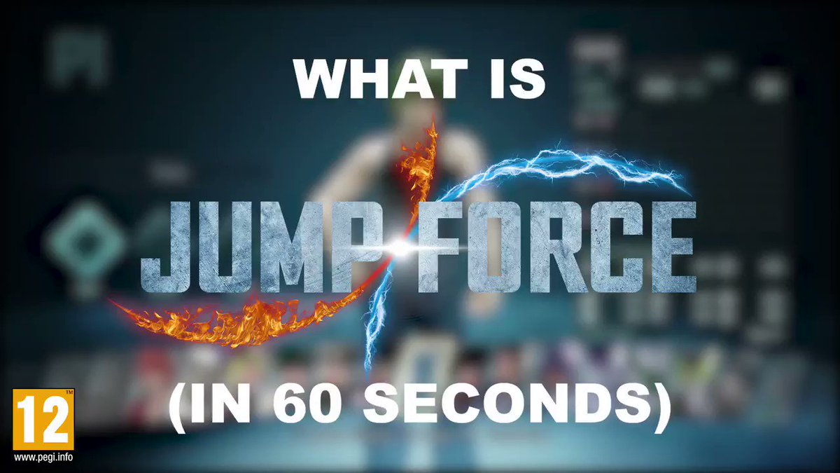 Jump Force is out on Friday, but just in case you've been living under a rock and don't know what it is, here's #JUMPFORCE explained in 60 short seconds!  Pre-order now: http://bit.ly/PLAYANIMEJUMPFORCE…