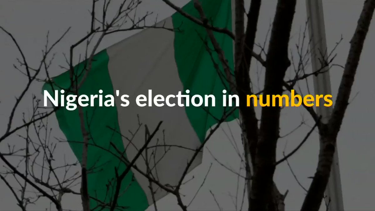 Nigeria's presidential election in numbers #NigeriaDecides2019 https://reut.rs/2E6LLof