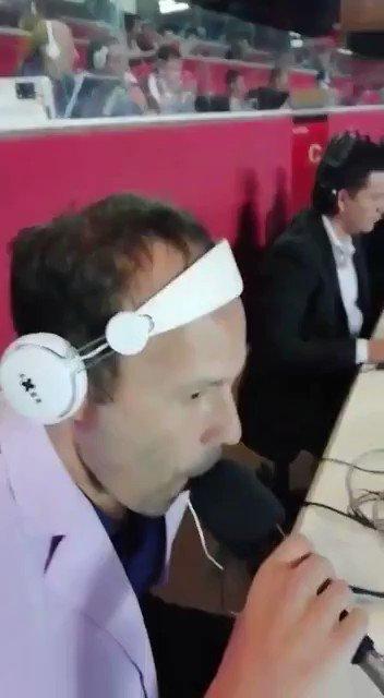 ¡Emocionante descripción del sentimiento del hincha de #Talleres en San Pablo de Matías Barzola, el reconocido relator cordobés, durante la previa del partido. ¡La T sigue adelante en la #CopaLibertadores! 📹: FB/ MatiasBarzolaOK