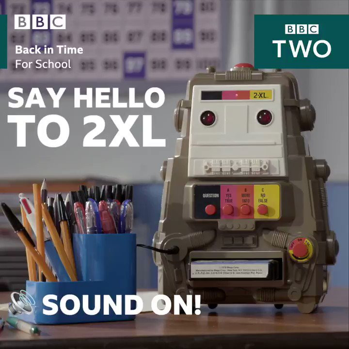Creepy, clever or cool? This sassy little robot helped to teach students in the 1980s! 🤖 #BackInTimeForSchool
