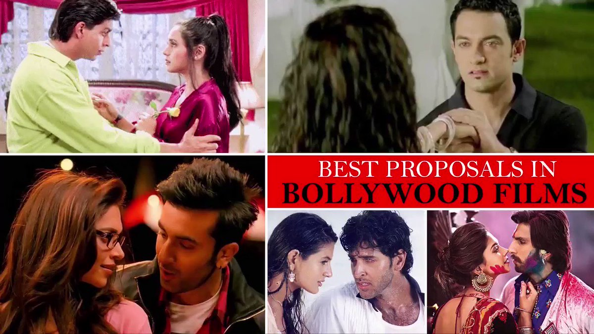 On the occasion of #ValentinesDay, we take a look back at some of the most romantic Bollywood proposals of all time.
