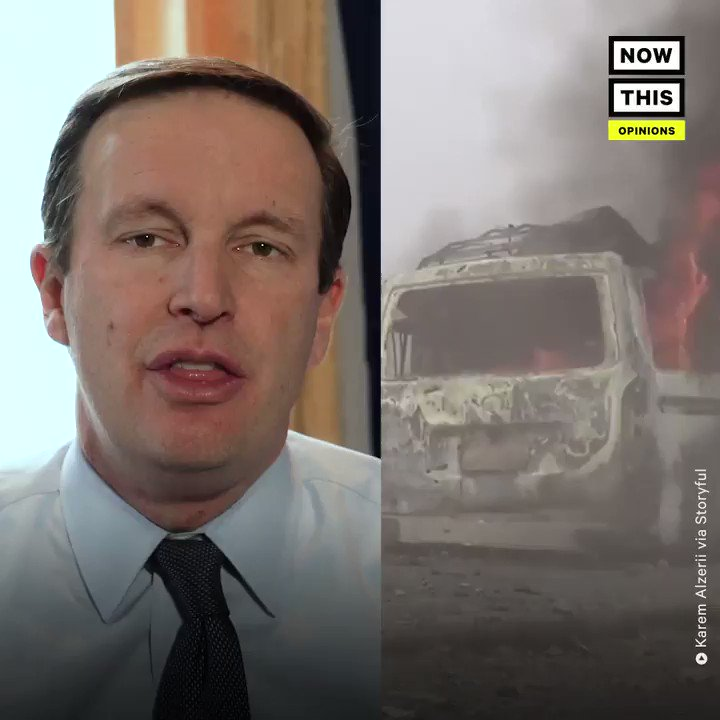 'Why would the United States support a country that is committing war crimes?' —Sen. @ChrisMurphyCT explains how your tax dollars are being used to starve children in Yemen