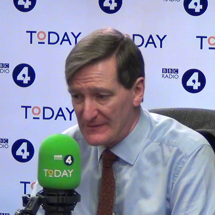 """Former Attorney General Dominic Grieve says there could be """"up to half a dozen"""" resignations from the Cabinet in the coming weeks if Theresa May did not delay Brexit if there was no deal - and that could bring down the government. #r4Today"""