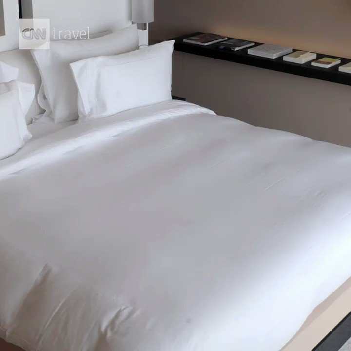 Hotel rooms skeeve you out? This little robot promises to sanitize your sheets https://cnn.it/2TQwf5D