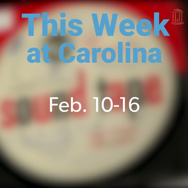 From celebrating Carolina's first student to congratulating a #UNC professor emeritus for winning two #GRAMMYs, check out what you might've missed around the University this week! https://t.co/Fvh4T0Tj7F