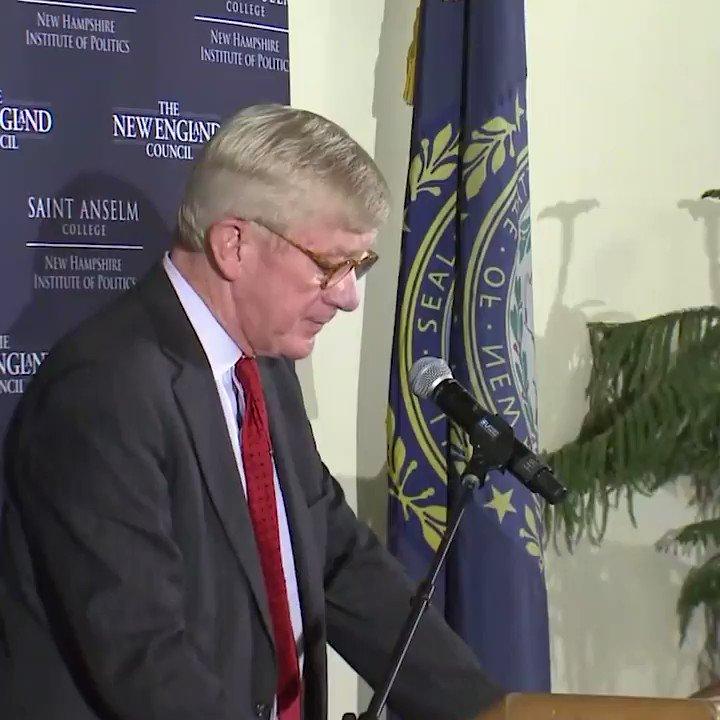 """Former Massachusetts Gov. Bill Weld, the first Republican to take a serious step toward challenging Pres. Trump in 2020, says the president """"is simply too unstable to carry out the duties of the highest executive office in the land."""" https://abcn.ws/2Edf3BO"""