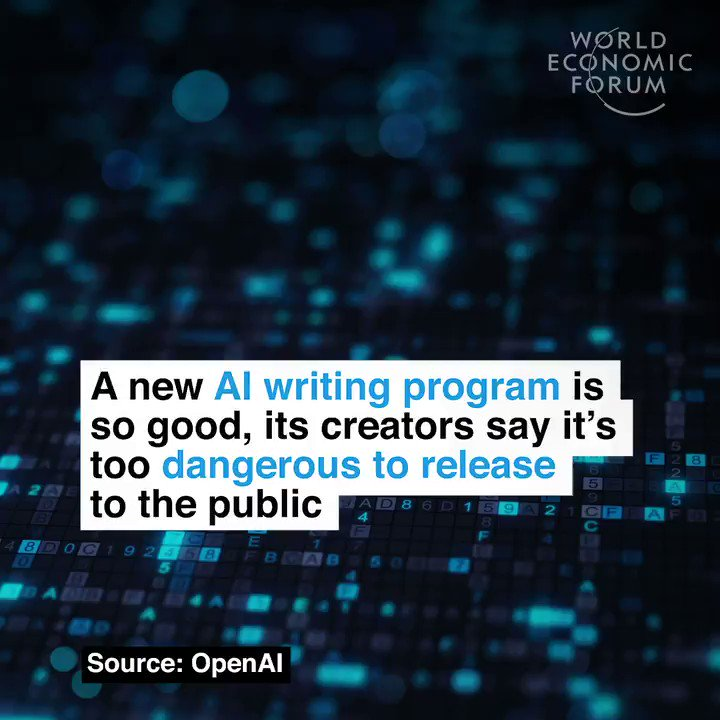 Do you know who to trust?   Read more: https://wef.ch/2Guykko #ai #technology