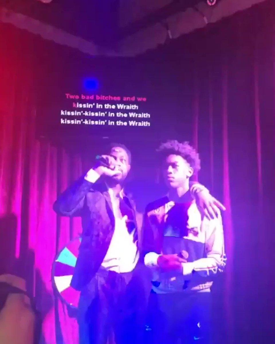 Dwyane Wade is the Karaoke King. This is most def indisputable. 🎤 (via @lisjoseph)