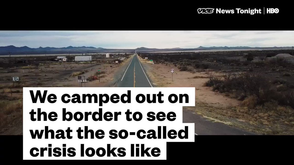 Trump regularly warns of dangerous criminals pouring into the country and just declared a national emergency for his wall.   So, in the spirit of fact checking, we went and camped along the border to see what the so-called crisis looks like.  This is what we saw.