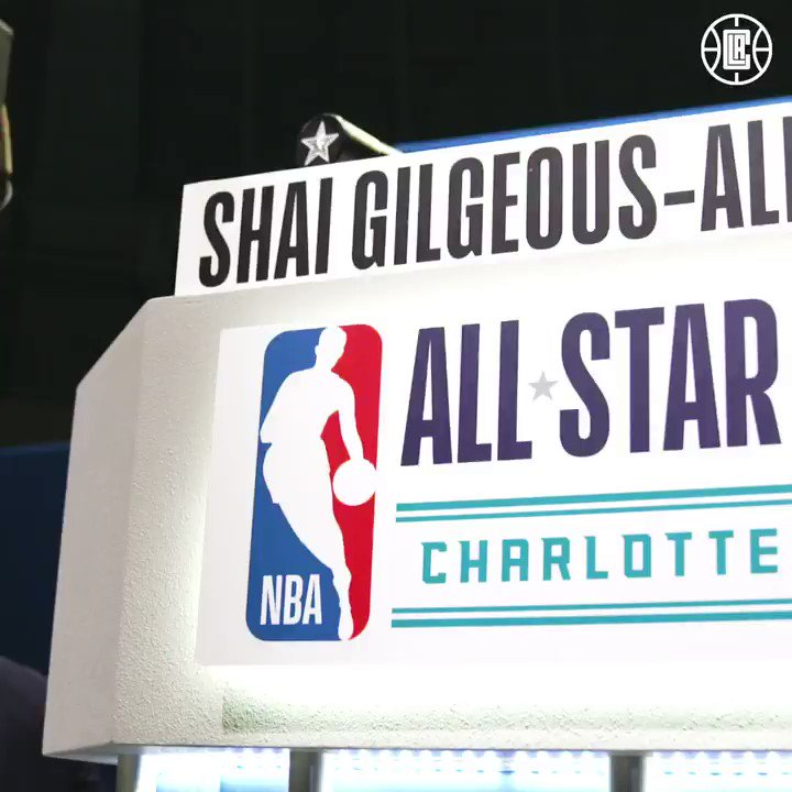 #NBAAllStar Friday To-Dos: ☑️ Q&A Sesh ☑️ #NBACares ☑️ Practice ⬜️ Rising Stars Game  @shaiglalex's whirlwind day is just getting started.
