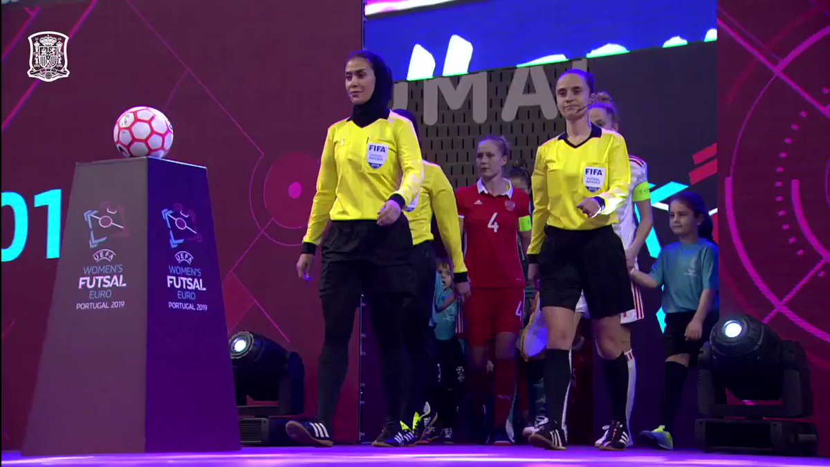 📺 RESUMEN   ¡Revive la victoria de la @SeFutbolFem Sala ante Rusia en la semifinal del primer Europeo Femenino de Fútbol Sala! 🤩  🇷🇺0 🆚 5 🇪🇸 #WEUROFutsal