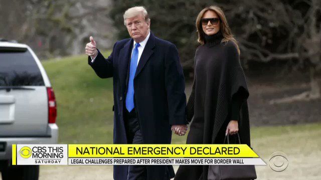 """President Trump is facing criticism following his national emergency declaration, at the U.S. border with Mexico. @itscaitlinhd, Immigration reporter for """"The New York Times"""", joins us to discuss the controversy."""