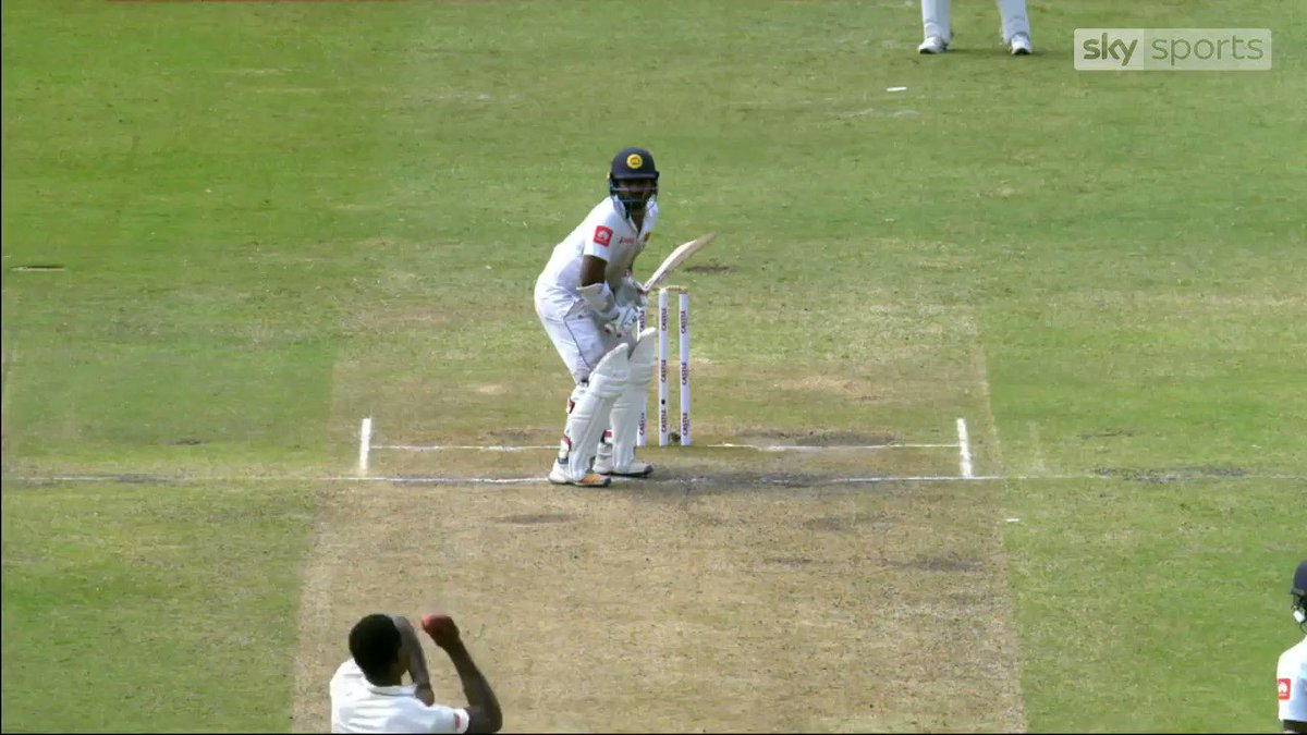 Kusal Perera hit an incredible 💯 to lead Sri Lanka to a stunning one-wicket victory over South Africa in the first Test in Durban.  Report & highlights 👉 http://skysports.tv/SwoAco