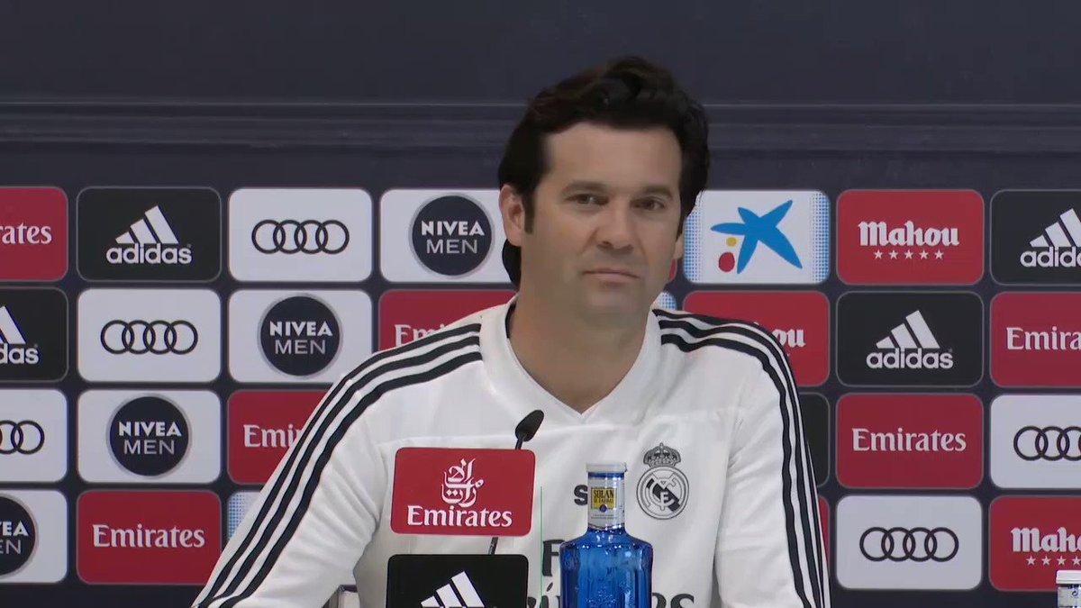 🇪🇸 #LaLiga 🎙 Solari défend ses joueurs Gareth Bale et Sergio Ramos