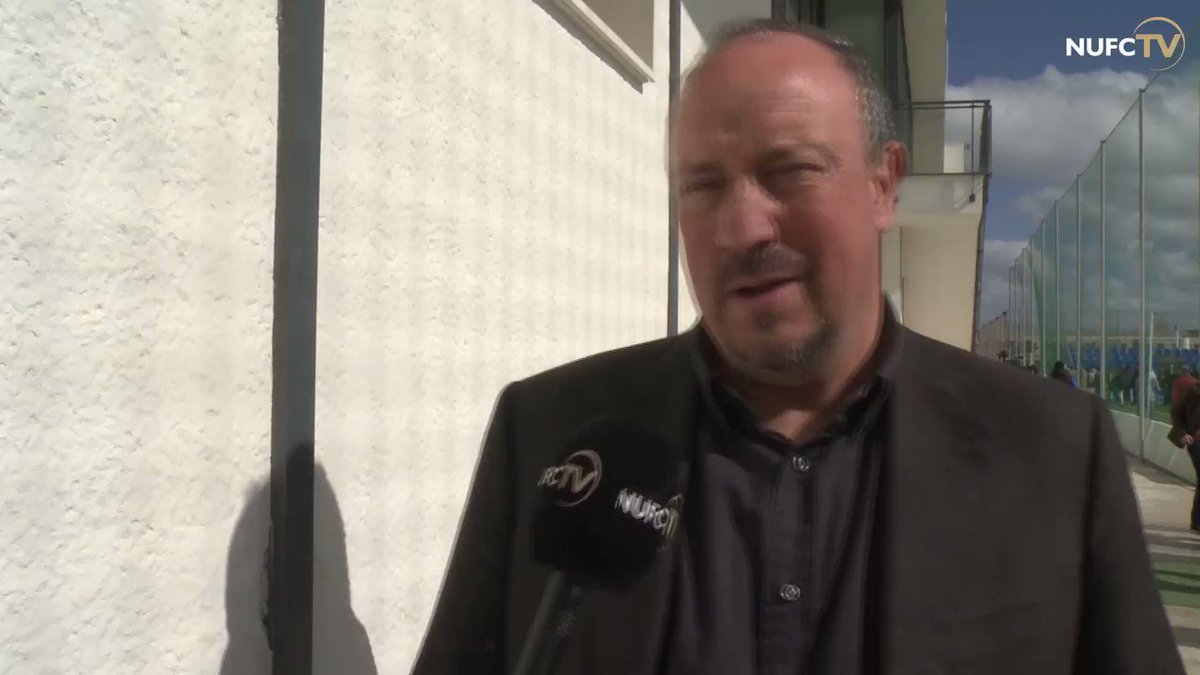 🎥 Rafa Benítez spoke to NUFC TV after today's 1-1 friendly draw against CSKA Moscow in Spain.  Watch the full interview for free: https://www.nufc.co.uk/nufc-tv/latest-videos/rafas-review-cska-moscow-friendly-reaction-18-19 … #NUFC