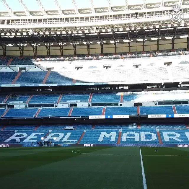 Real Madrid C.F.⚽'s photo on Bernabéu