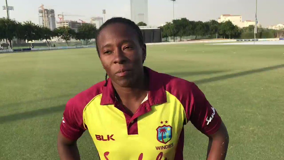 """""""We've got so many girls now who are willing to play cricket.""""  Windies' @selman_shakera reflects on the impact the 2018 @ICC Women's World T20 has had on the Caribbean."""