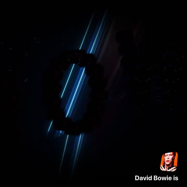 Image for the Tweet beginning: Access to David Bowie's personal