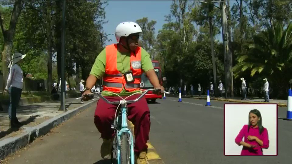 This is great idea. Mexico City has metro bus drivers do training where they pedal a bike in a bike lane as a bus flies close by them