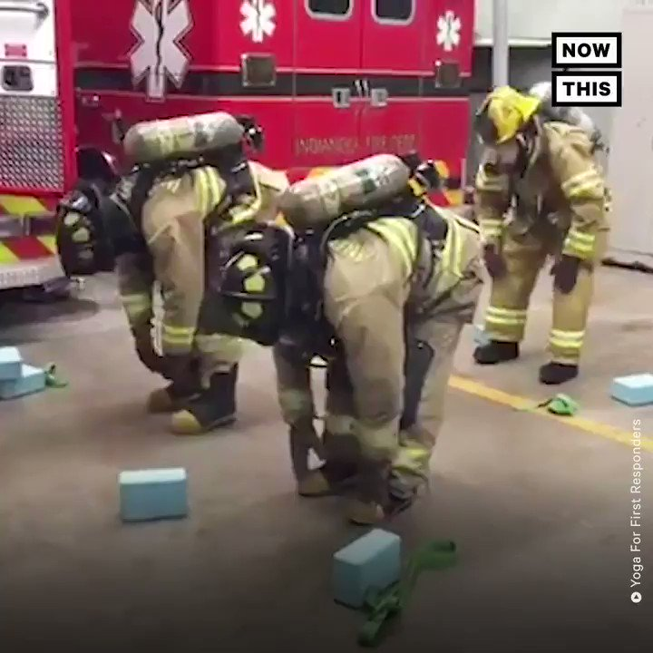 Here's why first responders are turning to yoga to improve their performance on the job