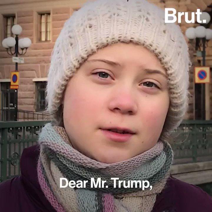Image for the Tweet beginning: 16-year-old @GretaThunberg is inspiring climate